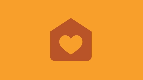 Orange health icon