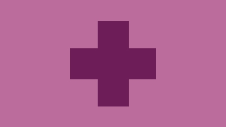 Purple health icon